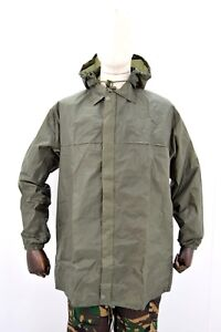 French-Army-Waterproof-Jacket-Lightweight-Compact-Rain-Jacket-NEW-Military-Issue