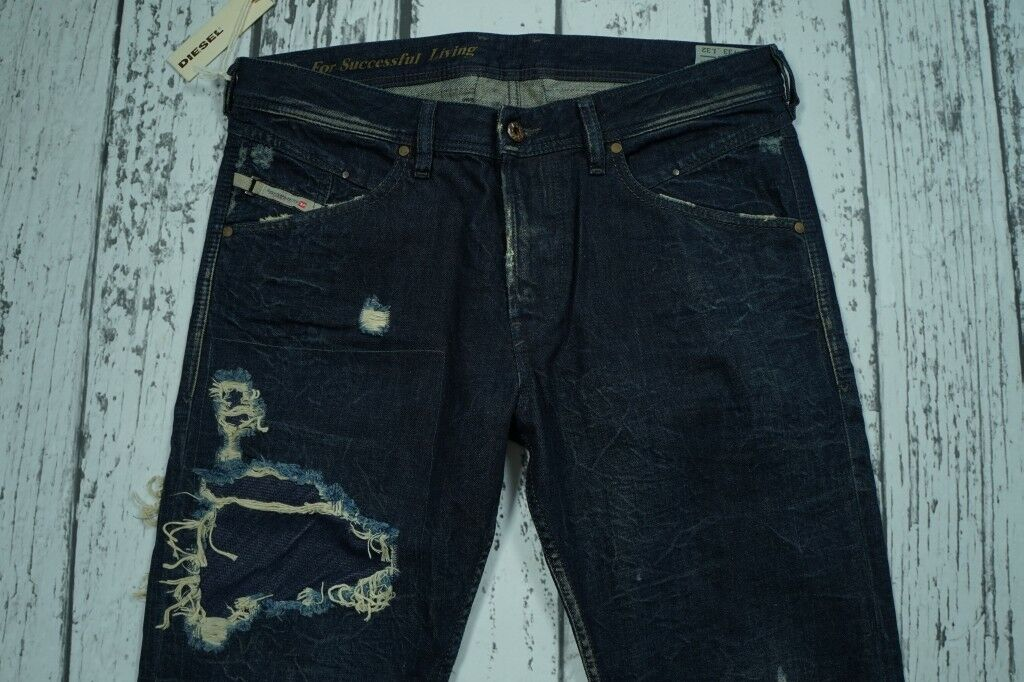 BNWT NEW DIESEL BELTHER 835K 0835K JEANS 33 32 33x30,91 W33 L32 100% AUTHENTIC