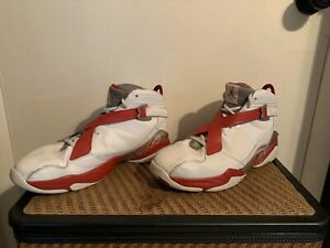 Air-Jordan-Retro-8-White-And-Red-Size-13