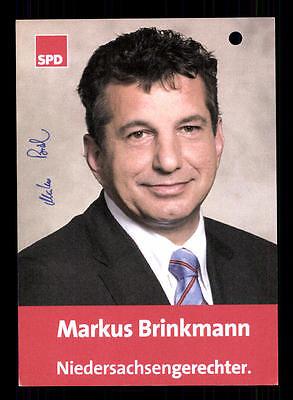 2019 Neuestes Design Markus Brinkmann Autogrammkarte Original Signiert ## Bc 94663 Sammeln & Seltenes Politik, Adel & Militär
