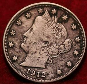 1912-S Icg VG8 Liberty Nickel : Coin and Bullion Reserves