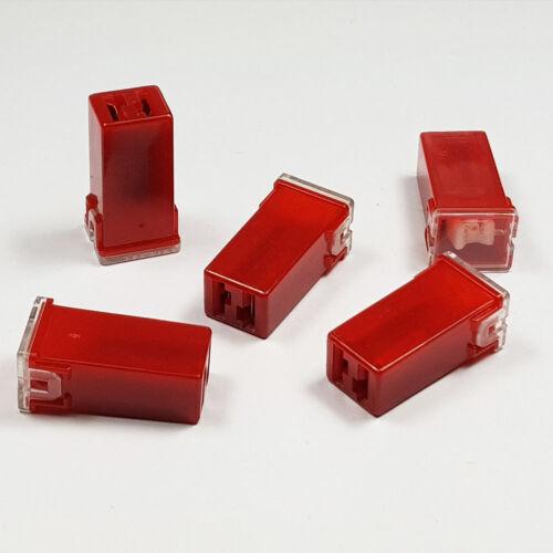 J CASE JCASE FUSE 50 AMP 50A RED STANDARD FEMALE PUSH IN CARTRIDGE FUSES CAR