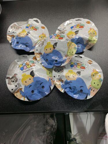 Disney Tsum Tsum Blind//Mystery Packs Lot of 5 Series 3 New /& Sealed