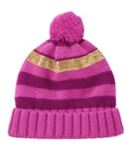 Gymboree Hats Kid Girl S M L 5-6 5-7 7-8 8 and up 10-12 Sun Hat Knit Red