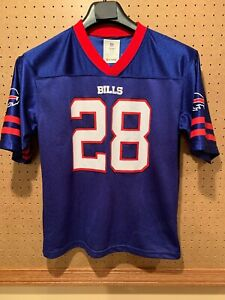 buy online 56edb 362b2 Details about Youth XX Large (18) Buffalo Bills Football Jersey NFL Team  Apparel # 21 SPILLER