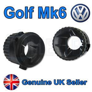 2-x-VW-Golf-Mk6-H7-HID-Conversion-Bulb-Holders-Base-Adaptors-GTi-GTD-TDi-Xenon