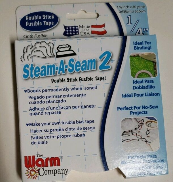 "40 yards of STEAM A SEAM 2 Fusible Web x 12/"" Wide crafts art quilts"