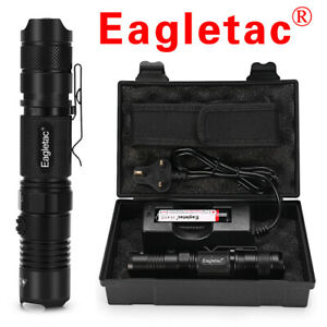Genuine Eagletac 1400 Lumens LED Tactical Flashlight Military Torch kit 18650