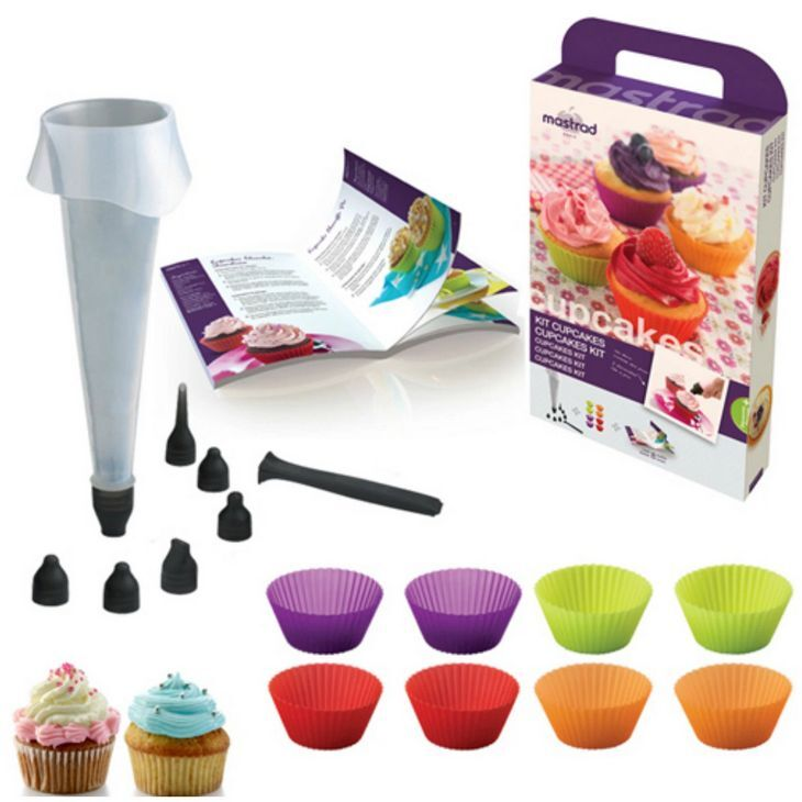 Beautiful Cupcakes Made Easy with the Mastrad Cupcake Kit