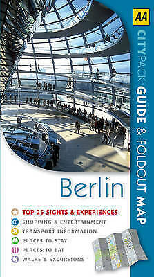 """""""AS NEW"""" AA CityPack Berlin (AA CityPack Guides), Rice, Christopher, Book"""