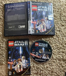 LEGO STAR WARS II The Original Trilogy Sony PlayStation 2 PS2 Complete/Tested