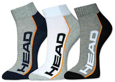 HEAD Sportsocken Quarter Kurzschaft Socken 2 4 6 Paar