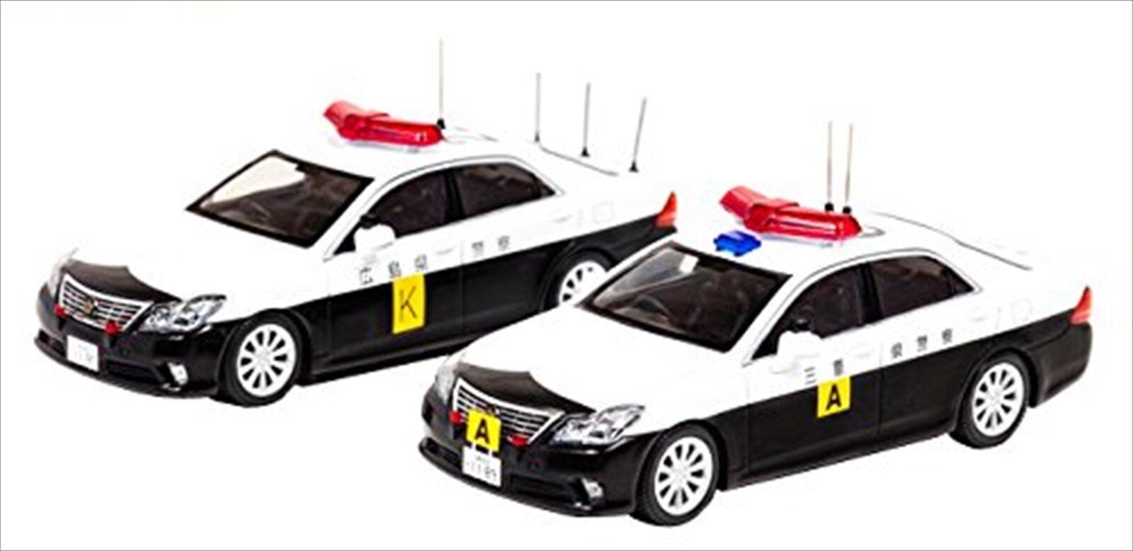 RAI'S 1/43 Toyota Crown  GRS202  Japan Police Car Diecast Model H743SE02