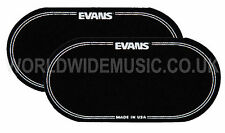 Evans EQ Black Nylon Double Bass Drum Patch (pack of 2 patches) -  EQPB2