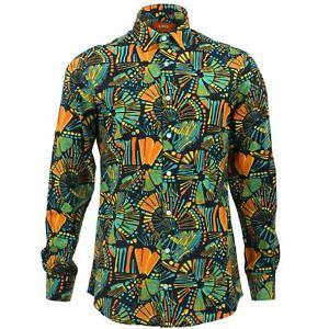 Camisa-para-hombre-fuerte-Originals-a-medida-con-Color-Negro-Retro-Psicodelico-Fancy