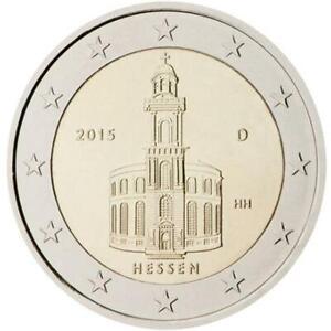 Germania 2015 Hessen - Église De San Paolo Monnaie: F