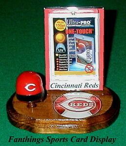 Cincinnati-Reds-MLB-Sports-Card-Display-Holder-Helmet-Logo-Gift