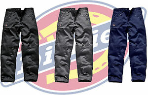 Dickies Redhawk Action Work Cargo Trousers - Zip Pocket - Choose Size & Colour