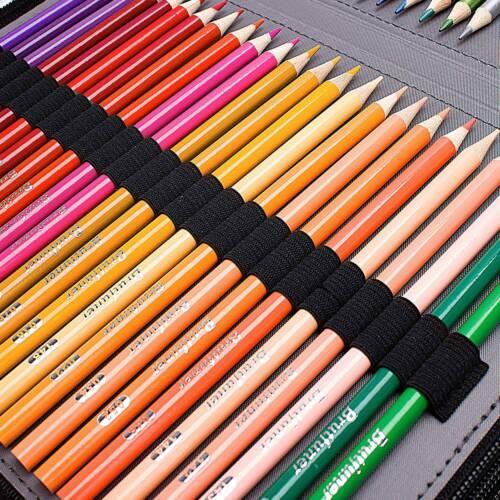 184-Slot Large Pencil Pen Cases Stationery Pouch Case Bag School College PartsUK
