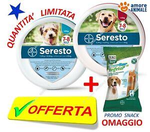 OFFERTA Seresto Bayer - Collare per CANE fino e oltre 8 kg cani piccoli e grandi