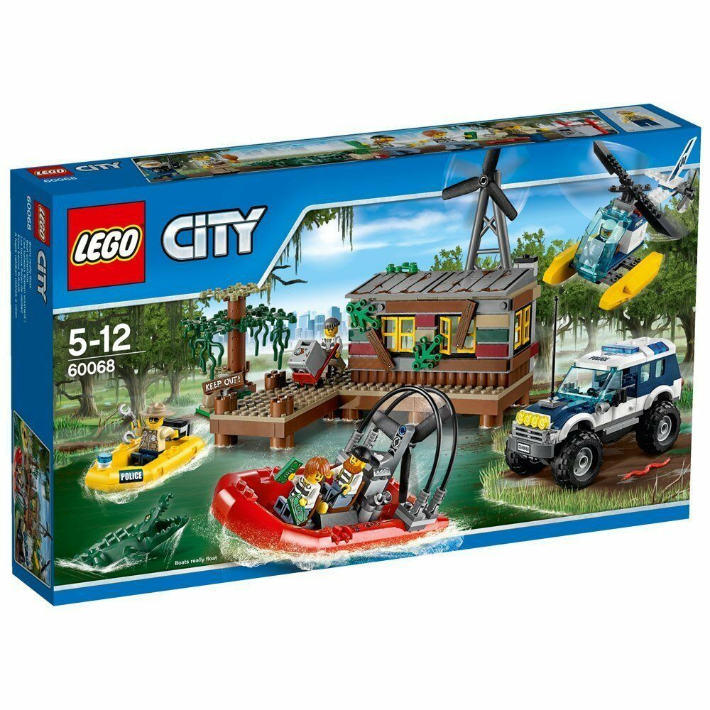 Lego City 60068 Bandit Hideout in Swamp New Ovp Misb