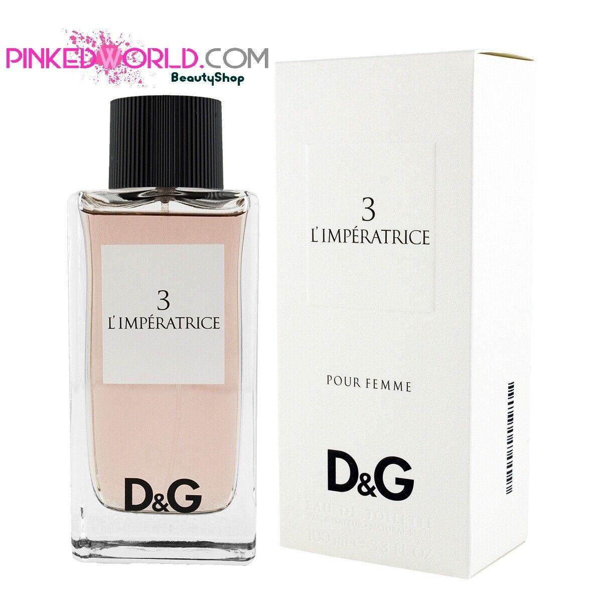 profumi: D&G L'IMPERATRICE 3  Edt 100 ml eau de toilette -Originale- Parfum Senza Scatola