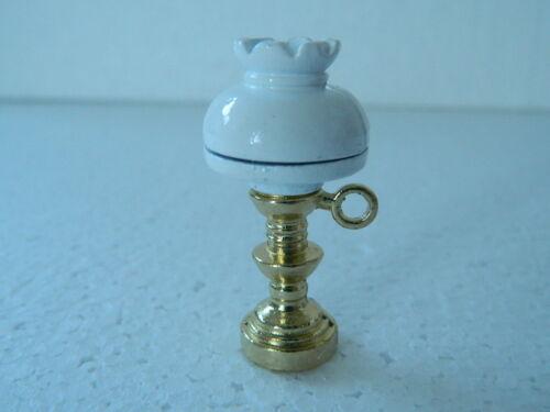 M3.10 escala 1//12th casa de muñecas lámpara de gas de trabajo no
