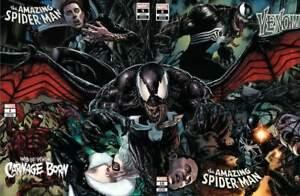 Amazing-Spider-Man-Venom-Carnage-Web-4-Variant-Connecting-Suayan-Set-1-8-9-10