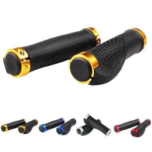 1 Pair MTB Bike Mountain Bicycle Handlebar Grip Cycle Handle Bar Grips Anti-slip