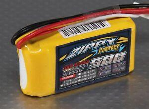 Amical Rc Zippy Compact 500mah 3s 35c Lipo Pack