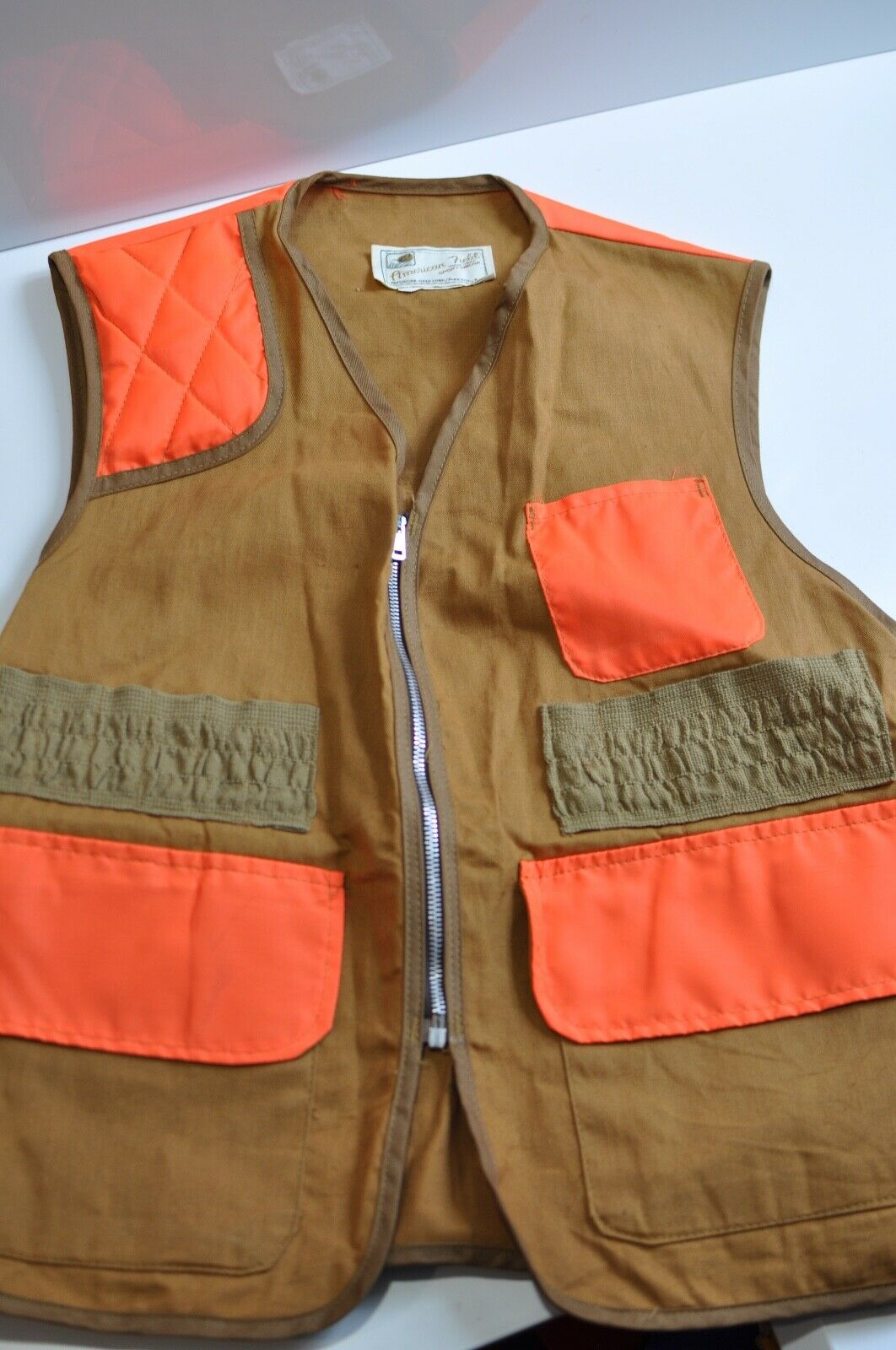 Vtg  American Field Hunting Vest Mens made in USA  80% off
