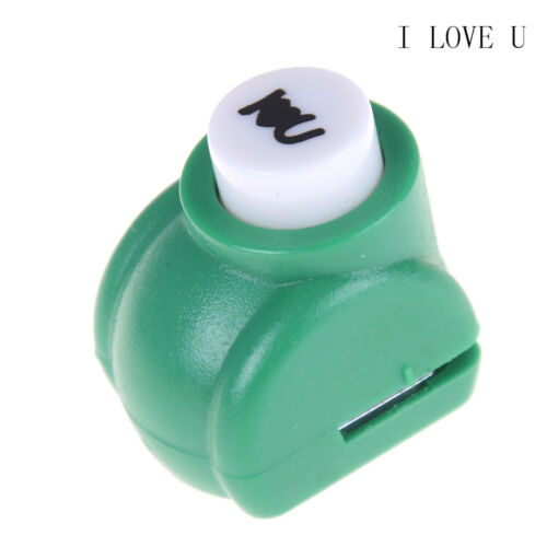 BD/_1PC Mini Paper Hole Punch Cutter DIY Card Scrapbooking Hand Shaper CraftRA ME