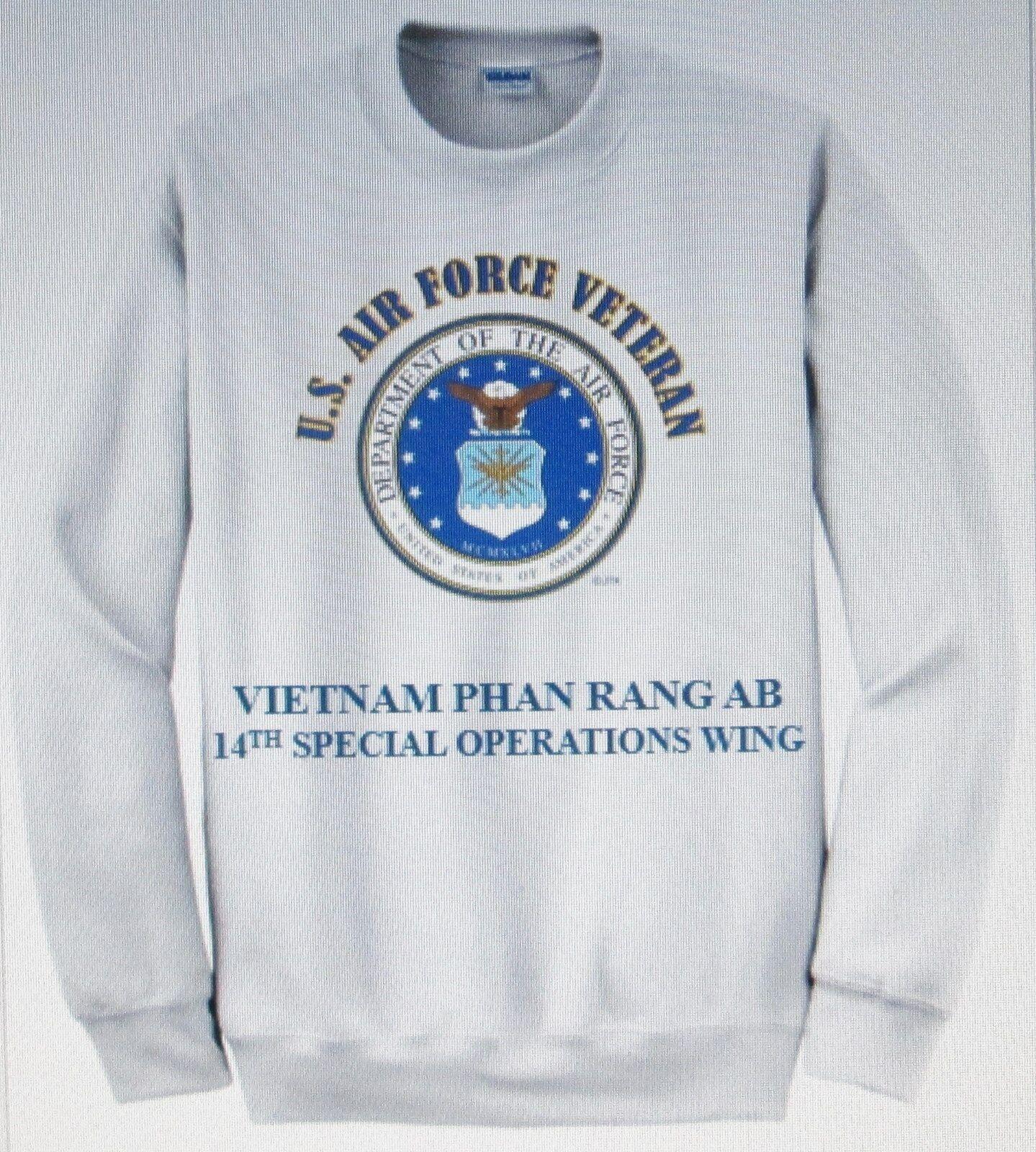 Vietnam Phan rang base aérienne  14TH Special Ops  u.s. Air Force Emblème Sweat