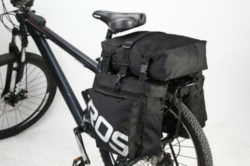ROSWHEEL 37L Durable 3 in 1 Bicycle  Bike Rear Pannier Bag with Rain Cover Premiu  quality first consumers first