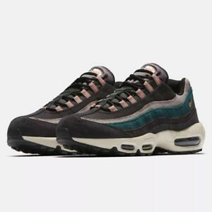 c7f1eefbaff82 NIKE AIR MAX 95 PRM 538416 018 OIL GREY BRIGHT MANGO RAIRFOREST ...