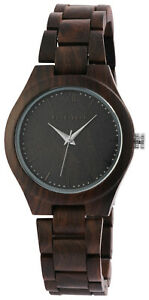 Excellanc-Damenuhr-aus-Holz-Uhr-Damen-Armbanduhr-Echt-Echtholz-Holzuhr-leicht