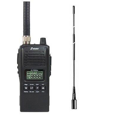 Funktechnik Diszipliniert Set Stabo Xh 9006e Cb Handfunk Spritzwassergeschützt Antenne Hyflex Tnc Letzter Stil Handys & Kommunikation