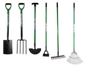 Image Is Loading HIGH QUALITY DIGGING GARDEN SPADE SHOVEL FORK HOE