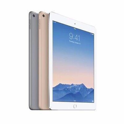 Apple iPad Air 2 (128GB, Wi-Fi) 9.7 In Retina Display Gold, Silver or Space Gray