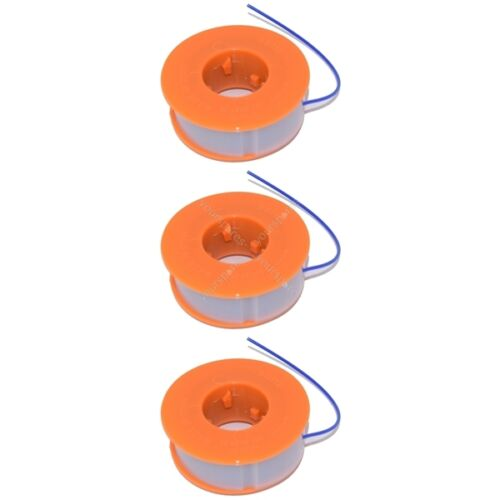 3 x Strimmer Trimmer Spool And Line Fits Bosch ART30