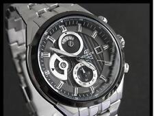 Casio Edifice Mens Chronograph Watch 100M Water Resist EF556D-1AV UK Seller