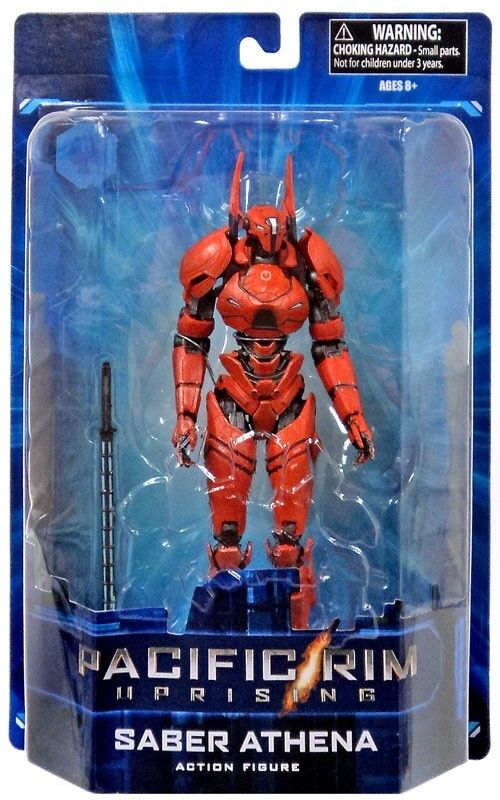 Pacific Rim  Uprising Saber Athena Action Figure [Blister Card]