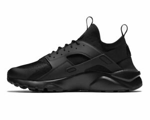 0c627b983d50 Nike Air Huarache Run Ultra Size 10.5 US Black Triple Mens Shoes ...