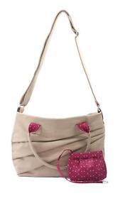 ZWEI-Madame-Frauentasche-Tasche-Handtasche-Damentasche-Umhaengetasche-sand