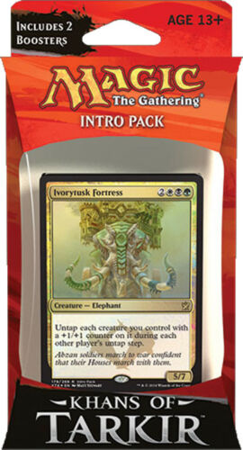ENGLISH Khans of Tarkir Intro Pack Abzan Siege SEALED BRAND NEW MAGIC ABUGames