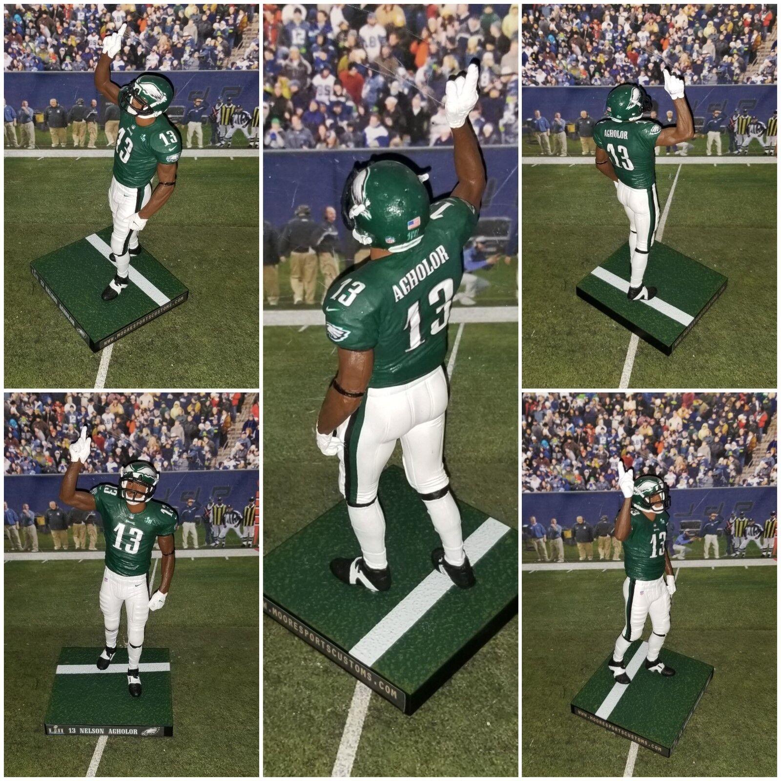Custom N. Agholor  13 WR PHI Eagles (Super Bowl edition) Mcfarlane figure