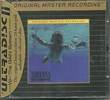 Nirvana Nevermind MFSL Gold CD Neu OVP Sealed UDCD 666 UII mit J-Card