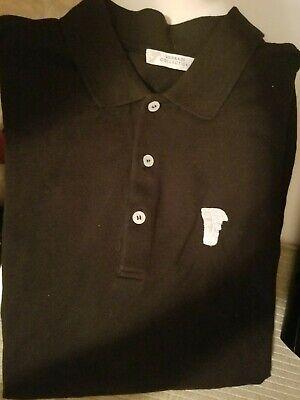 Versace Collection Polo Shirt - Black/White, Half Medusa (Men size XL)   eBay