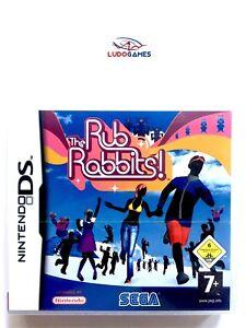 The-Rub-Rabbits-Nintendo-DS-PAL-EUR-Precintado-Videojuego-Nuevo-New-Sealed-Retro