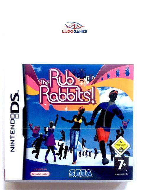 The Rub Rabbits Nintendo DS PAL/EUR Precintado Videojuego Nuevo New Sealed Retro